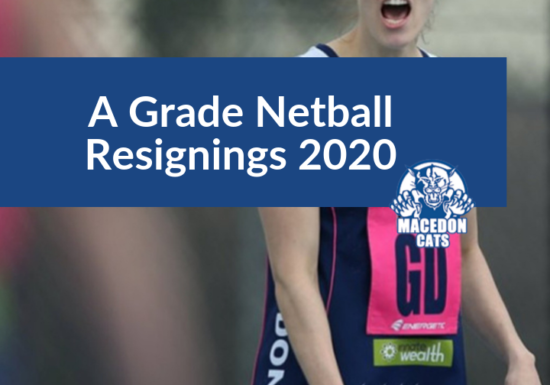 Netball – We've resigned our talented A Graders for 2020